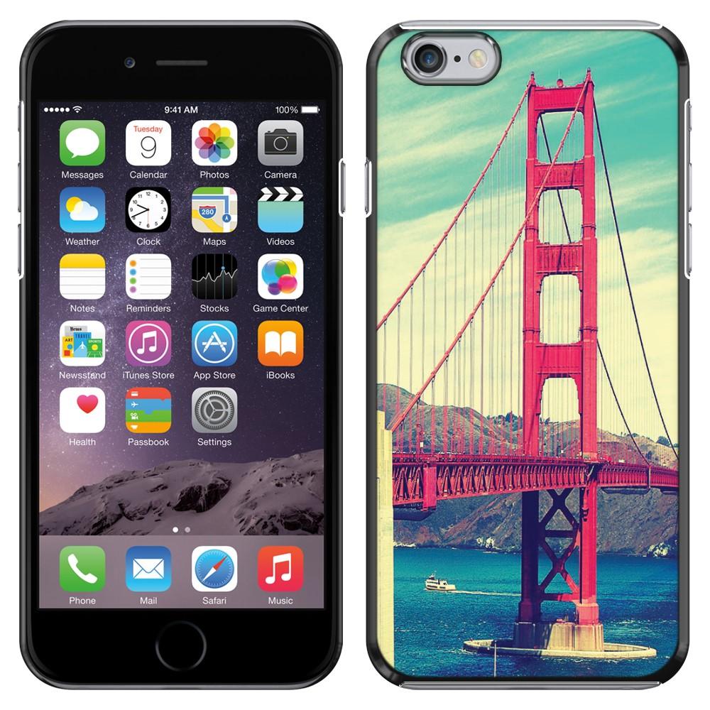 Apple Iphone 6 Plus 5.5 inch iPhone 6s Plus 5.5 inch 2nd Gen 2015 Vintage Retro Golden Gate Bridge SLIM FIT Back Cover Case