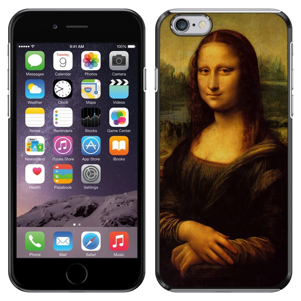 Apple Iphone 6 Plus 5.5 inch iPhone 6s Plus 5.5 inch 2nd Gen 2015 Mona Lisa Leonardo Da Vinci Back Cover Case