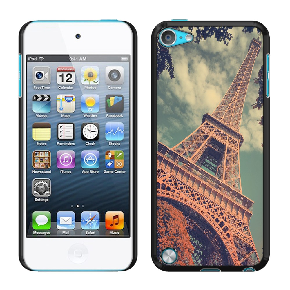 Apple iPod Touch 5 (5th Generation) iPod Touch 6 (6th Generation) Vintage Retro Paris Eiffel Tower SLIM FIT Back Cover Case