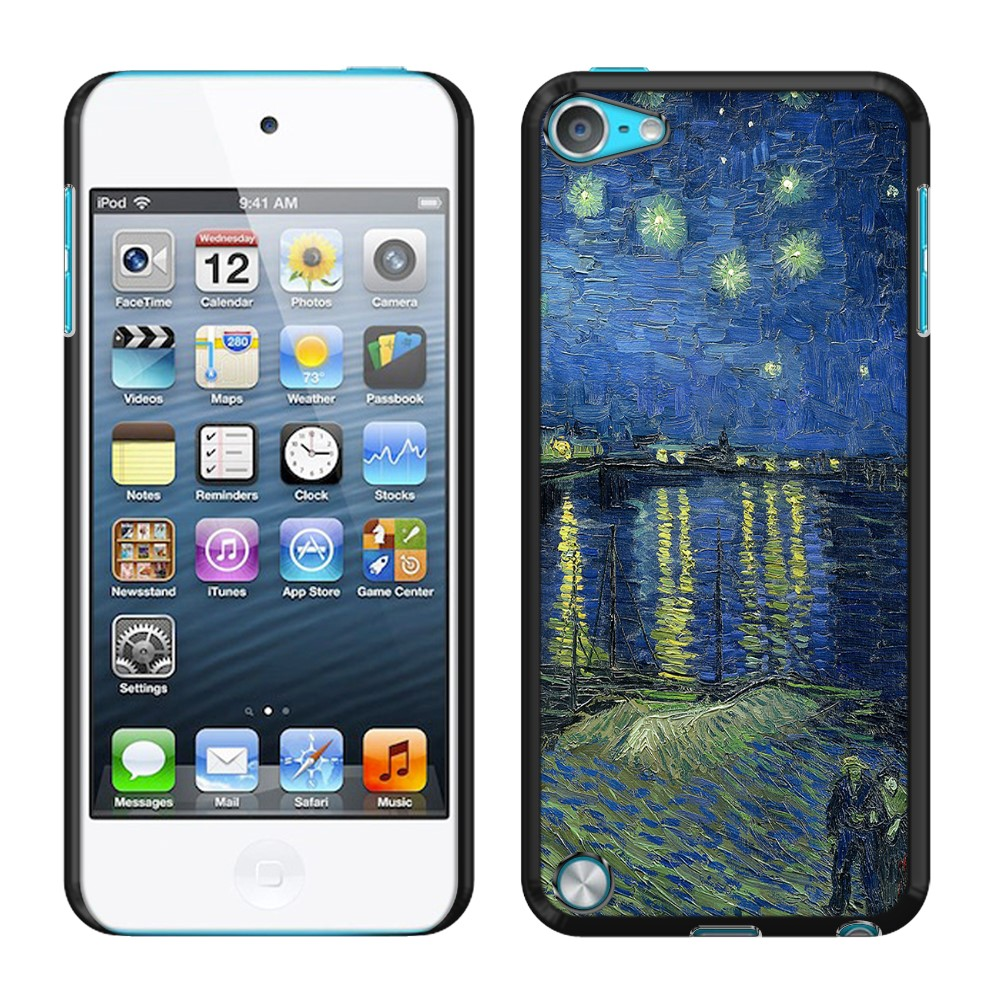 Apple iPod Touch 5 (5th Generation) iPod Touch 6 (6th Generation) Starry Night Over The Rhone Back Cover Case