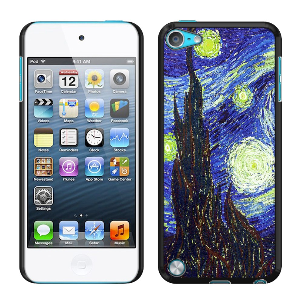 Apple iPod Touch 5 (5th Generation) iPod Touch 6 (6th Generation) The Starry Night Van Gogh Back Cover Case