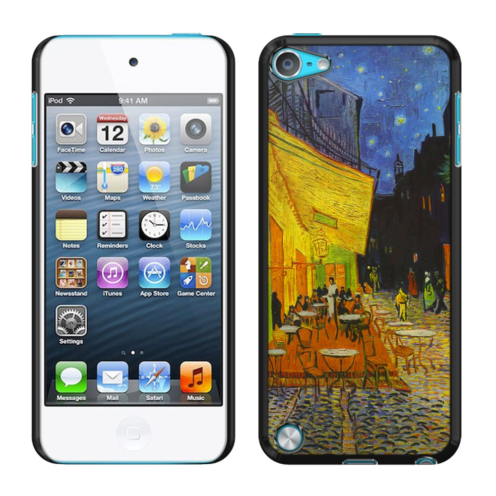 Apple iPod Touch 5 (5th Generation) iPod Touch 6 (6th Generation) Cafe Terrace At Night Van Gogh Back Cover Case