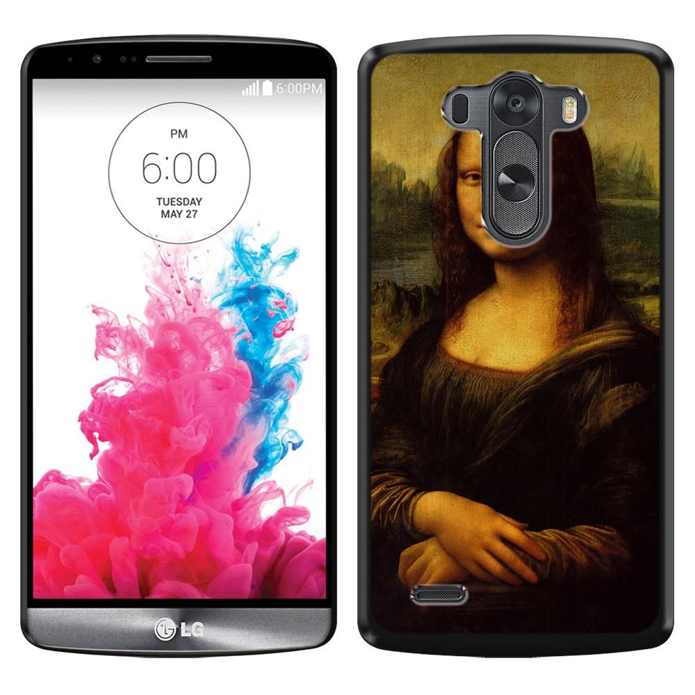 LG G3 D850 D851 LS990 VS985 D855 Mona Lisa Leonardo Da Vinci Back Cover Case