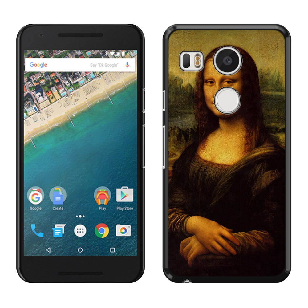 LG Google Nexus 5X Mona Lisa Leonardo Da Vinci Back Cover Case