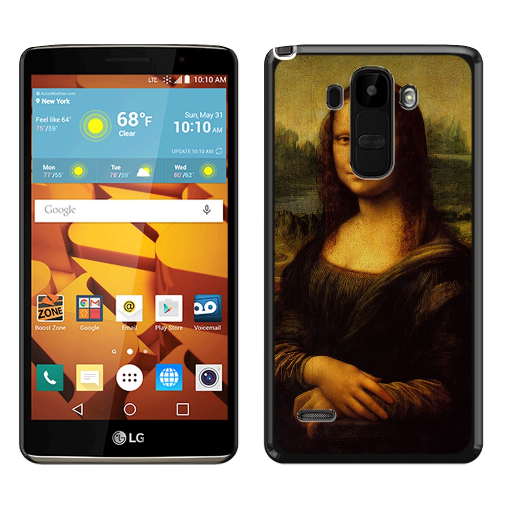 LG G Stylo LS770 G4 Note G Vista 2 H740 2nd 2015 Mona Lisa Leonardo Da Vinci Back Cover Case