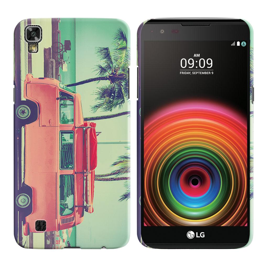 LG X Power K450 US610 LS755 K210 K6 K6P K220 Vintage Retro Beach Car Back Cover Case