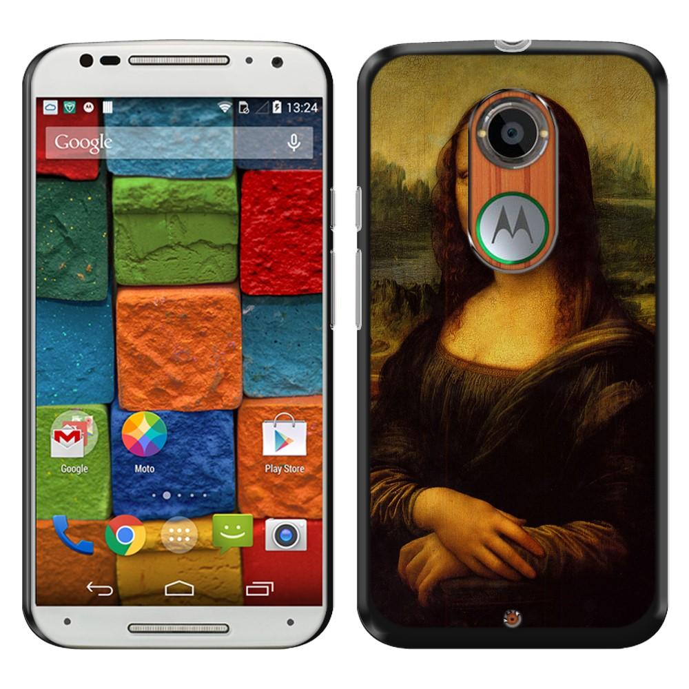 Motorola Moto X 2014 (2nd Generation) Mona Lisa Leonardo Da Vinci Back Cover Case
