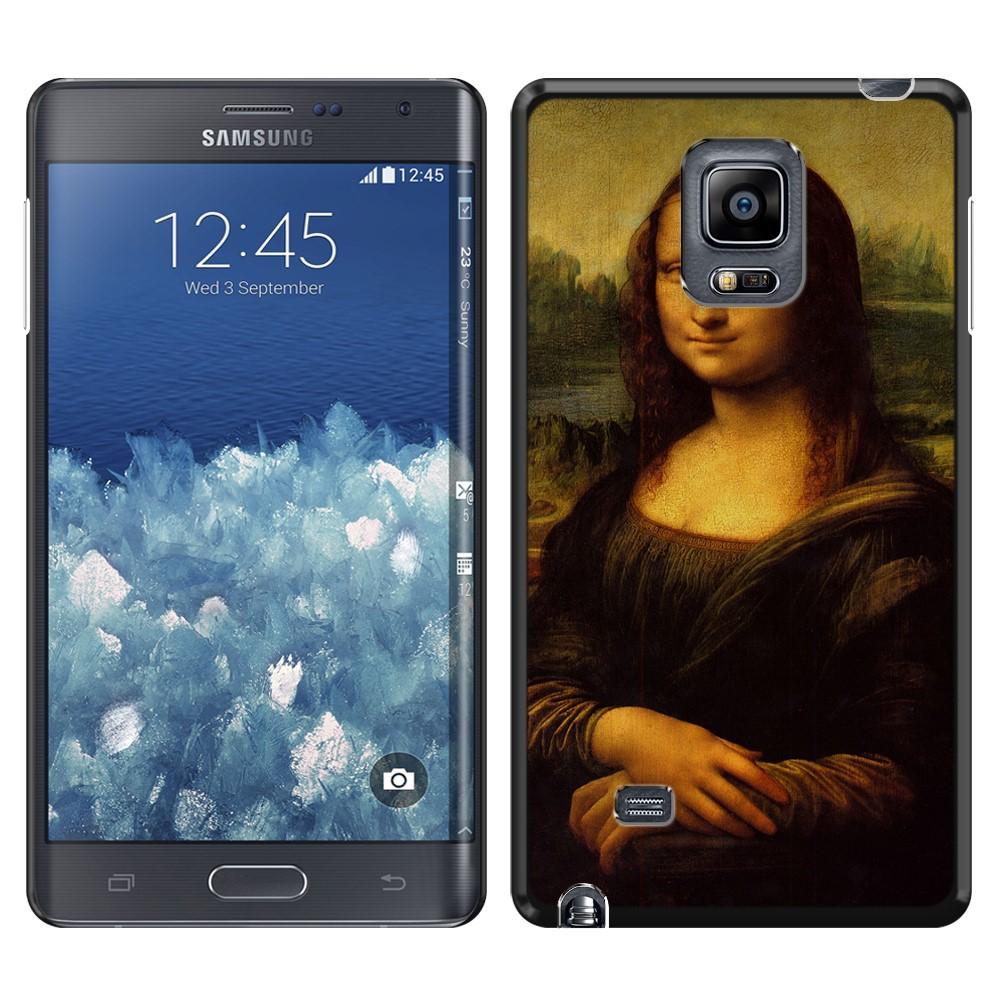 Samsung Galaxy Note Edge N915 Mona Lisa Leonardo Da Vinci Back Cover Case