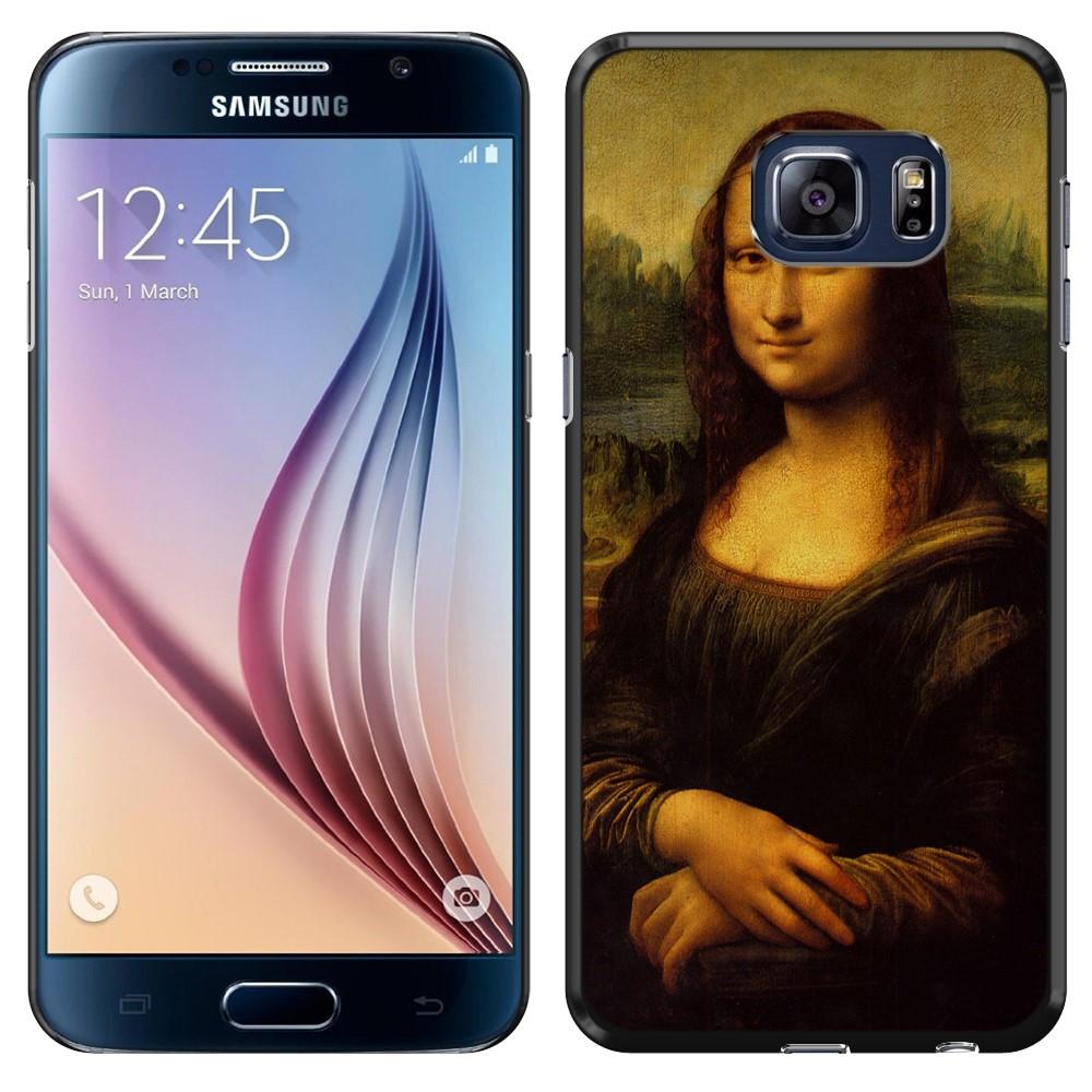 Samsung Galaxy S6 G920 Mona Lisa Leonardo Da Vinci Back Cover Case