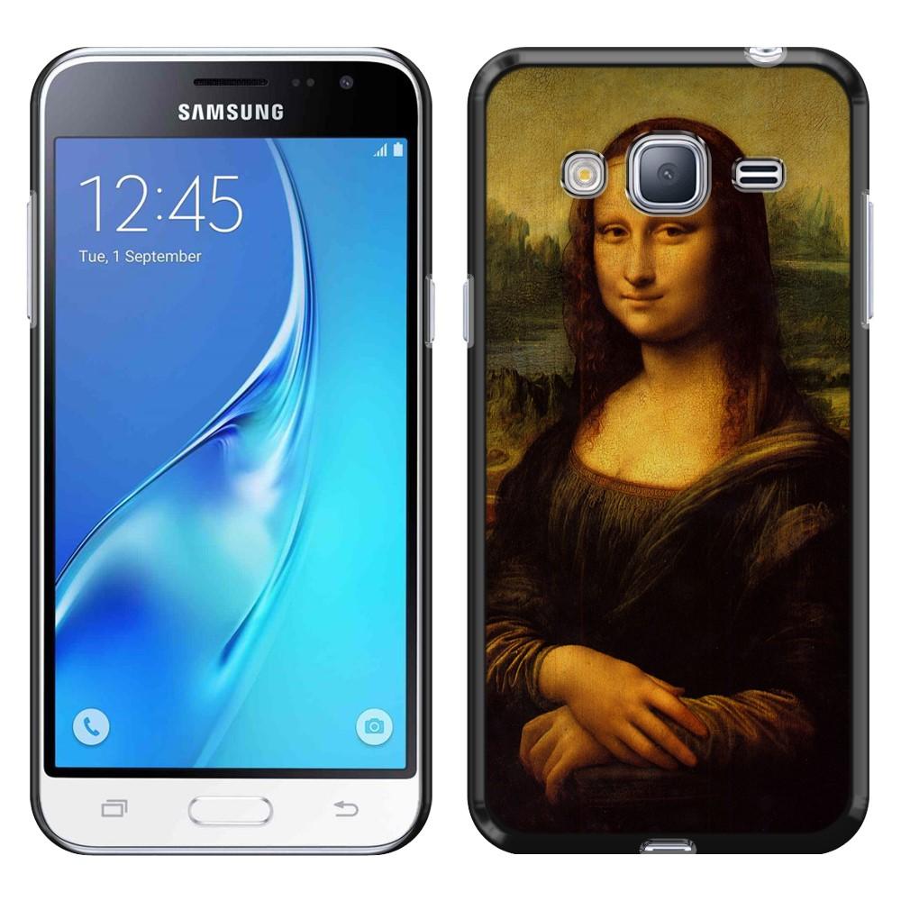 Samsung Galaxy J3 J310 J320 Galaxy Amp Prime Galaxy Express Prime Galaxy Sol J321 Galaxy J3 V Galaxy Sky S320 Mona Lisa Leonardo Da Vinci Back Cover Case