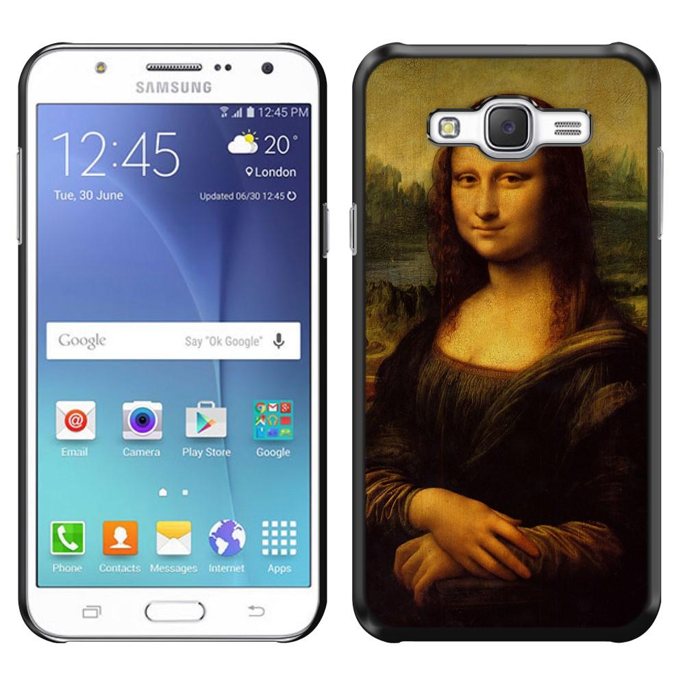Samsung Galaxy J7 J700 Mona Lisa Leonardo Da Vinci Back Cover Case