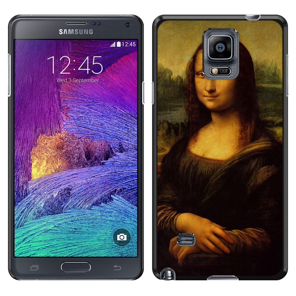Samsung Galaxy Note 4 N910 Mona Lisa Leonardo Da Vinci Back Cover Case