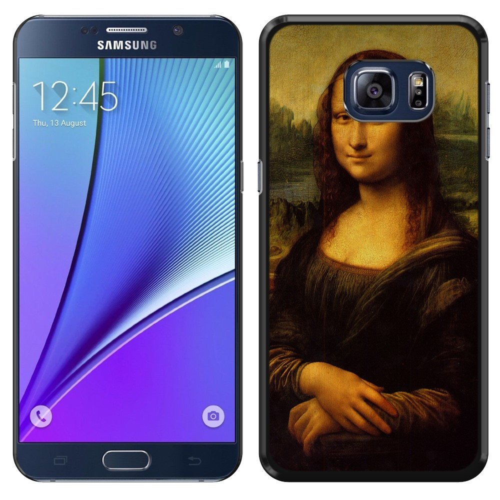 Samsung Galaxy Note 5 N920 Mona Lisa Leonardo Da Vinci Back Cover Case