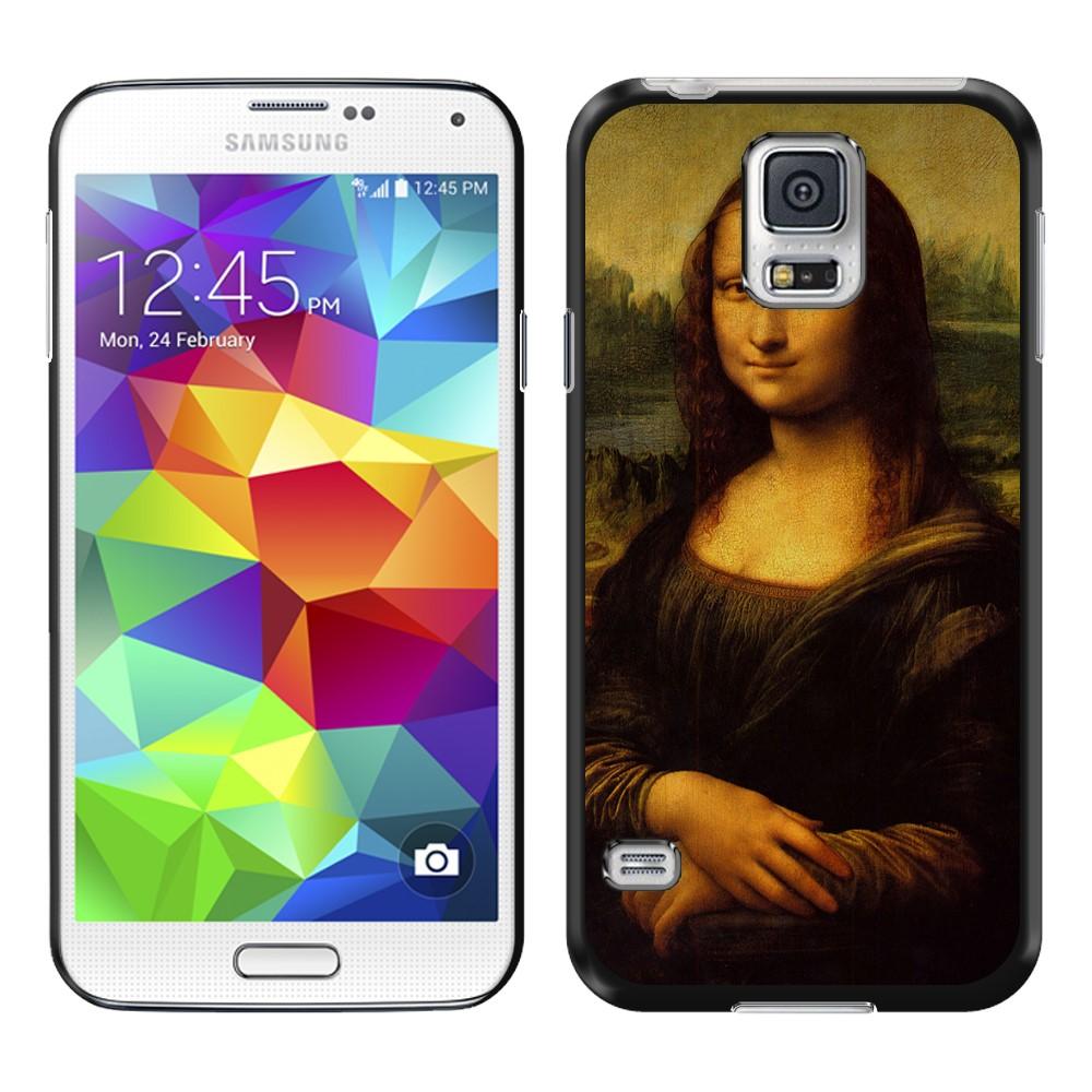 Samsung Galaxy S5 G900 Mona Lisa Leonardo Da Vinci Back Cover Case