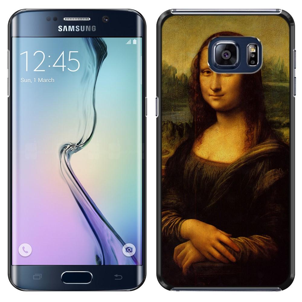 Samsung Galaxy S6 Edge G925 Mona Lisa Leonardo Da Vinci Back Cover Case