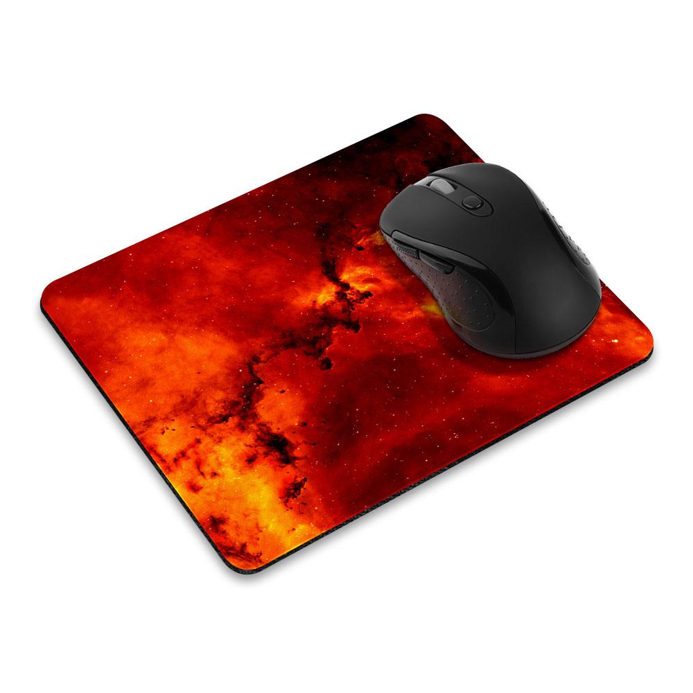 Fiery Galaxy Rectangle Mousepad