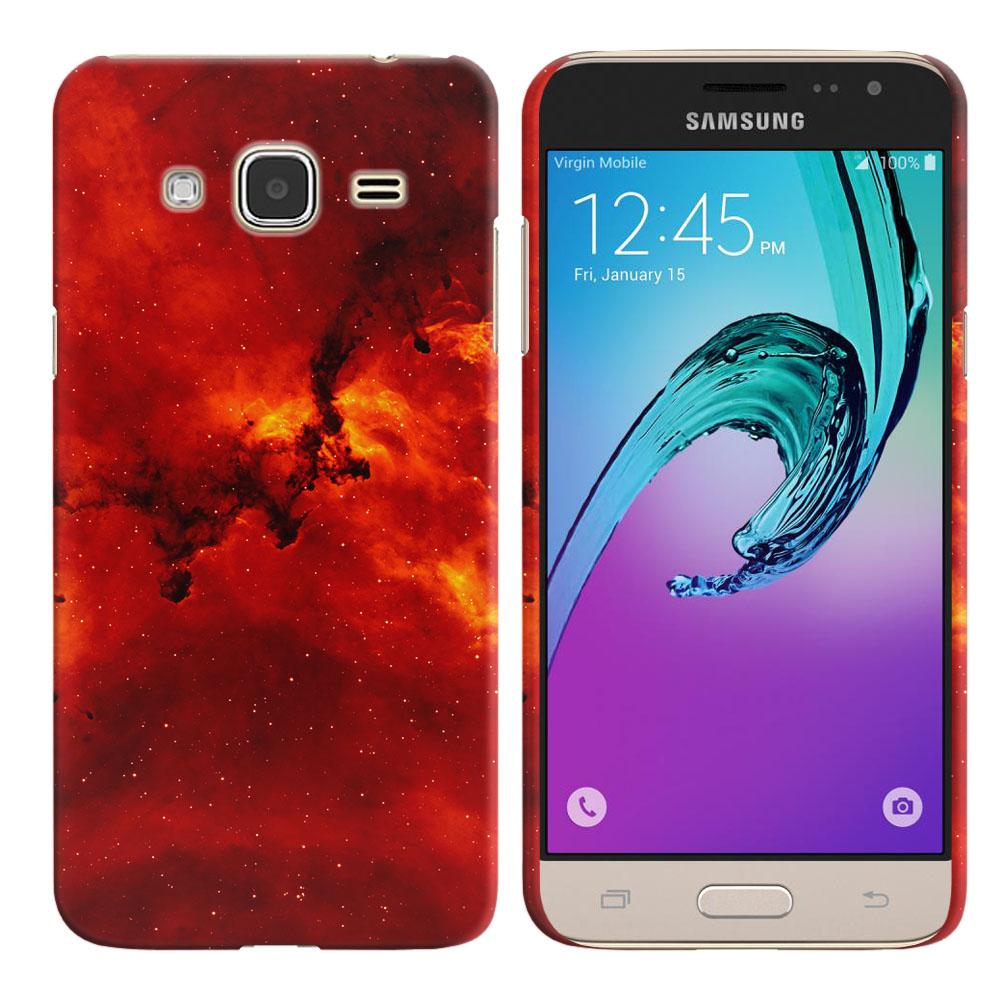 Samsung Galaxy J3 J310 J320 (Not fit for J3 Emerge J327 2017, J3 Pro 2017) Fiery Galaxy Back Cover Case