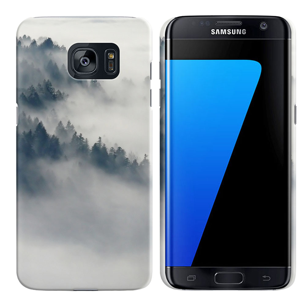 Samsung Galaxy S7 Edge G935 Winter Trees Back Cover Case