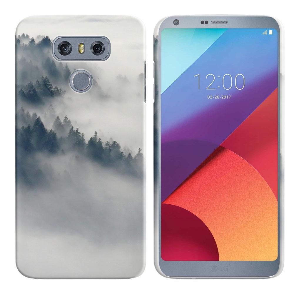 LG G6 H870-H871-H872-H873-US997-LS993-VS998-AS993-G6  Plus US997 Winter Trees Back Cover Case