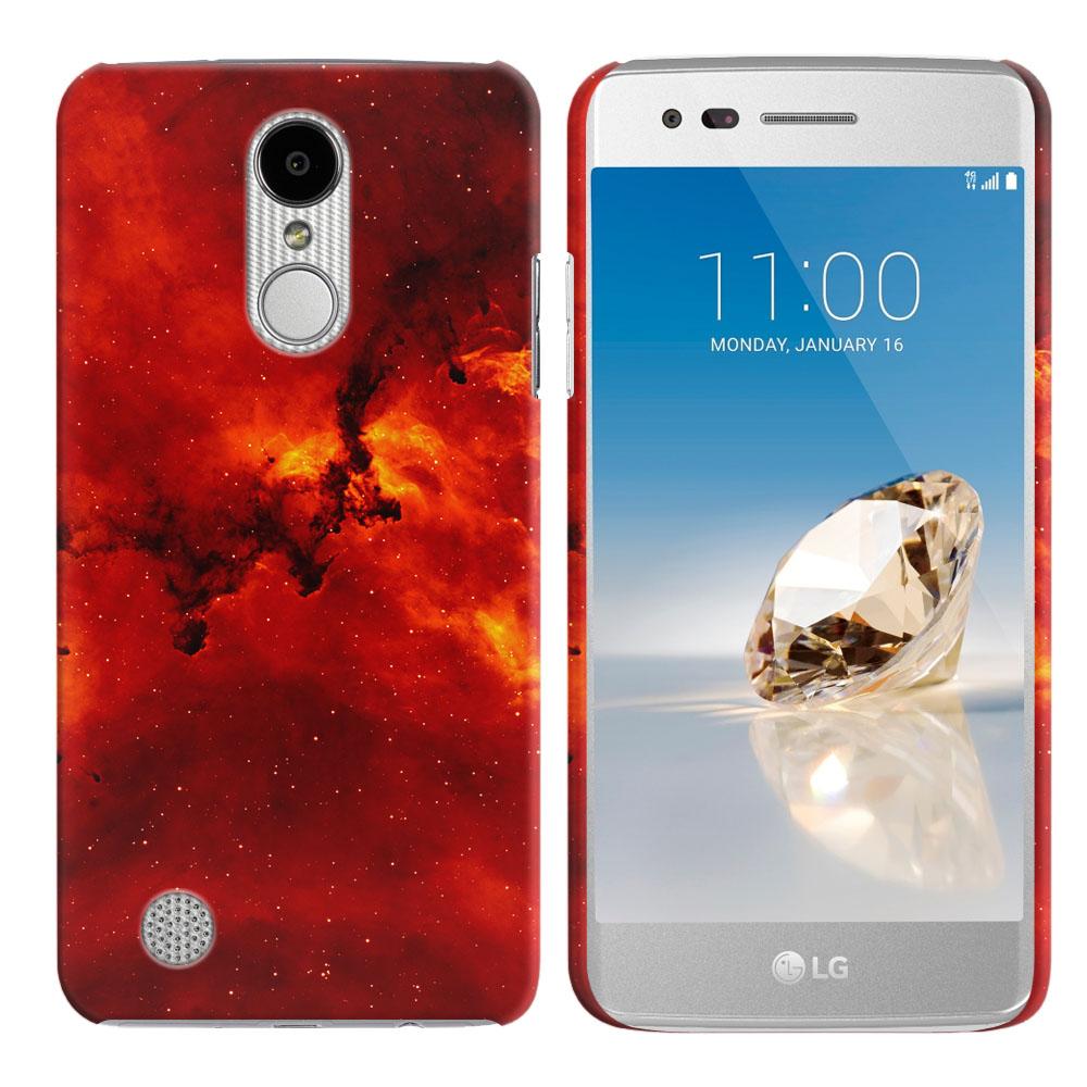LG Aristo MS210 LV3-LG K8 (2017)-LG Phoenix 3 M150-LG Fortune Fiery Galaxy Back Cover Case
