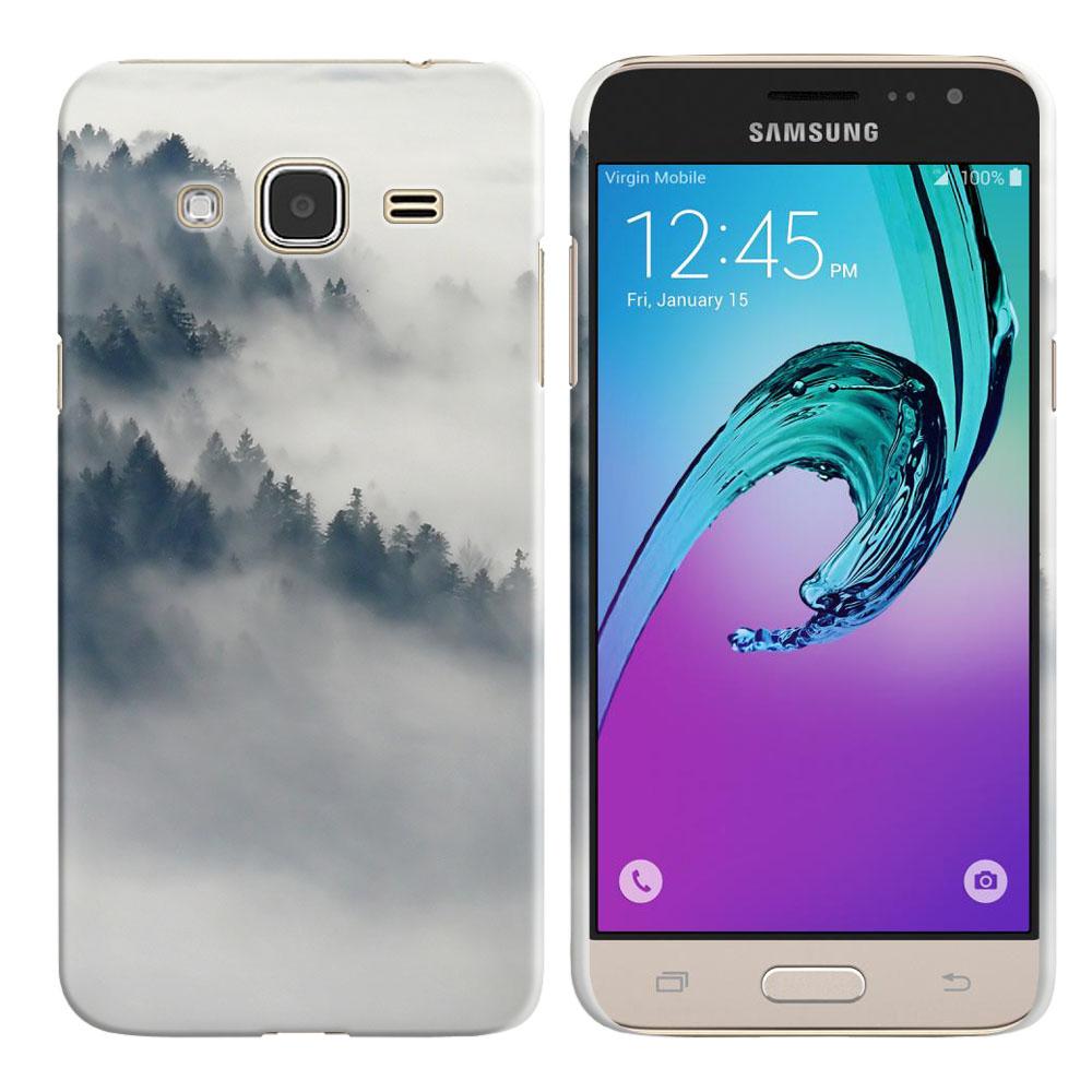 Samsung Galaxy J3 J310 J320 (Not fit for J3 Emerge J327 2017, J3 Pro 2017) Winter Trees Back Cover Case