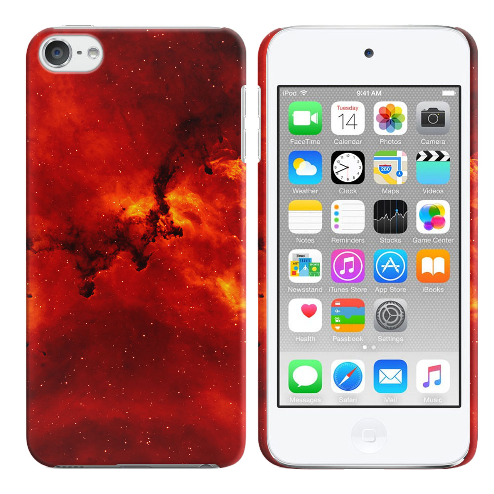Apple iPod Touch 5 (5th Generation)-Apple iPod Touch 6 (6th Generation) Fiery Galaxy Back Cover Case