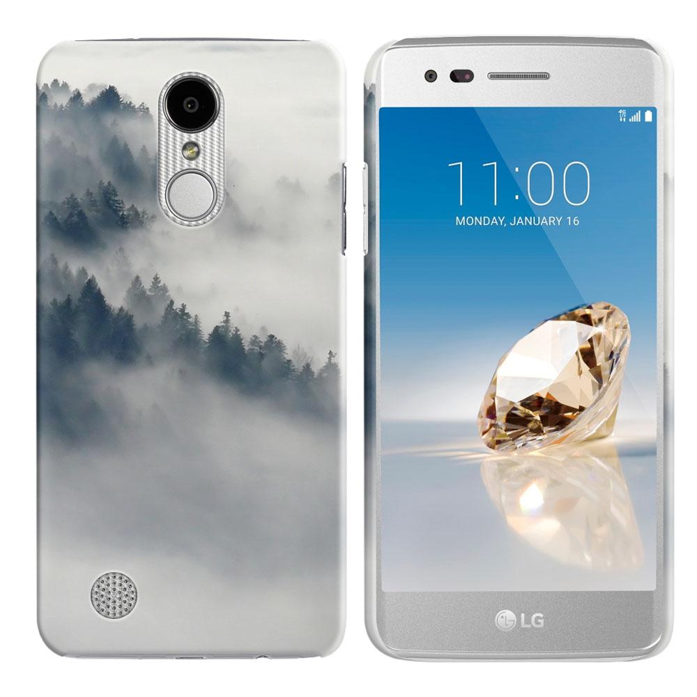 LG Aristo MS210 LV3-LG K8 (2017)-LG Phoenix 3 M150-LG Fortune Winter Trees Back Cover Case