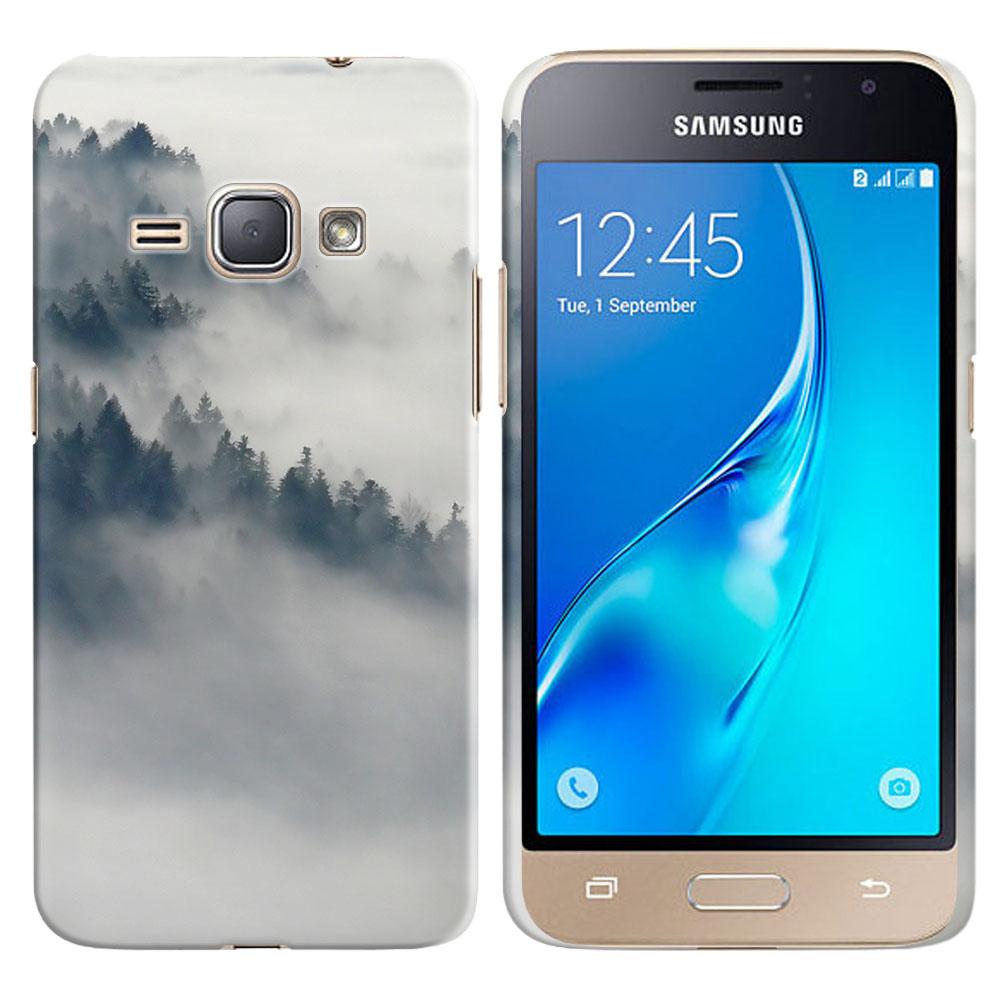 Samsung Galaxy J1 J120 2nd Gen 2016-Samsung Galaxy AMP 2 2nd Gen 2016-Samsung Galaxy Express 3-Samsung Galaxy Luna S120 Winter Trees Back Cover Case