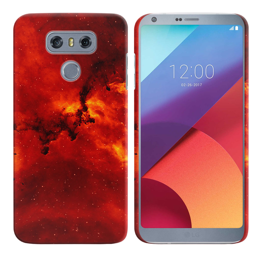 LG G6 H870-H871-H872-H873-US997-LS993-VS998-AS993-G6  Plus US997 Fiery Galaxy Back Cover Case