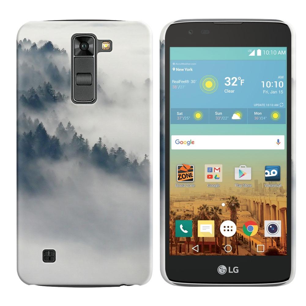 LG K7 Tribute 5 LS675 MS330-LG M1-LG Treasure L51AL L51VL L52AL L52VL Winter Trees Back Cover Case