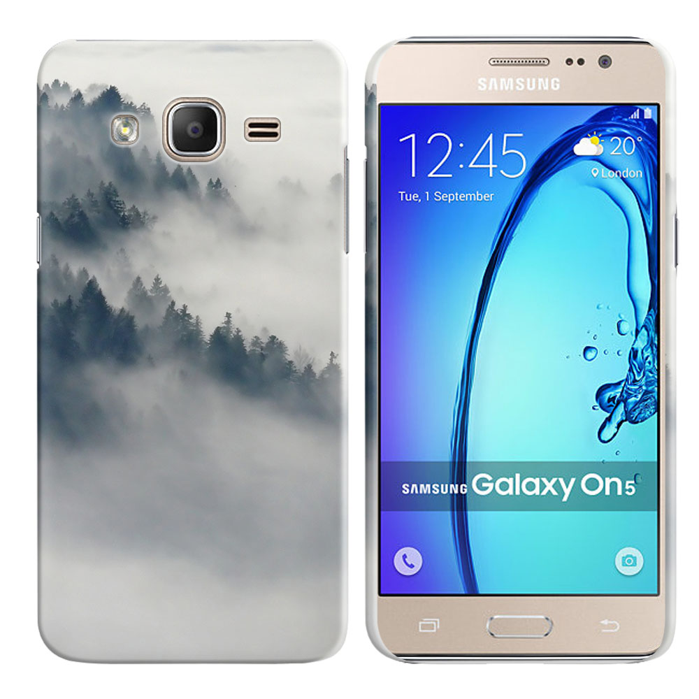 Samsung Galaxy On5 G500-Samsung Galaxy On5 G550 Winter Trees Back Cover Case