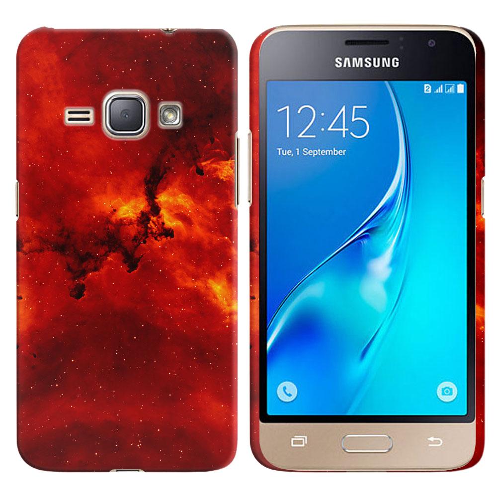 Samsung Galaxy J1 J120 2nd Gen 2016-Samsung Galaxy AMP 2 2nd Gen 2016-Samsung Galaxy Express 3-Samsung Galaxy Luna S120 Fiery Galaxy Back Cover Case