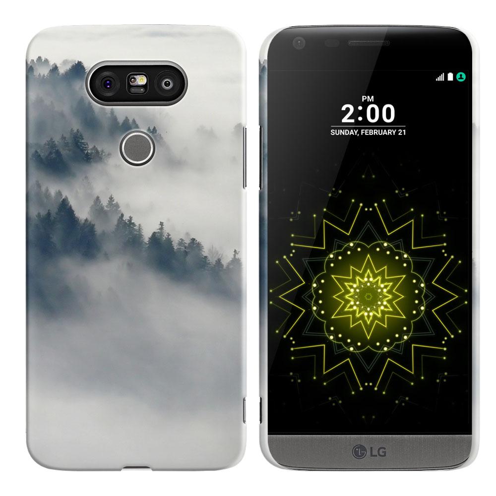 LG G5 H850 VS987 Winter Trees Back Cover Case