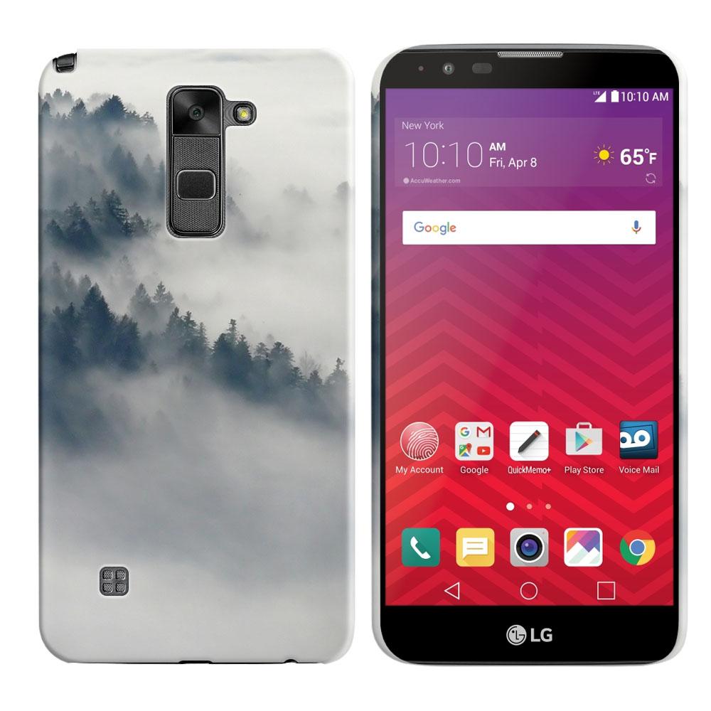LG Stylus 2 LS775 K520 Stylo 2-LG Stylo 2 V VS835 Winter Trees Back Cover Case