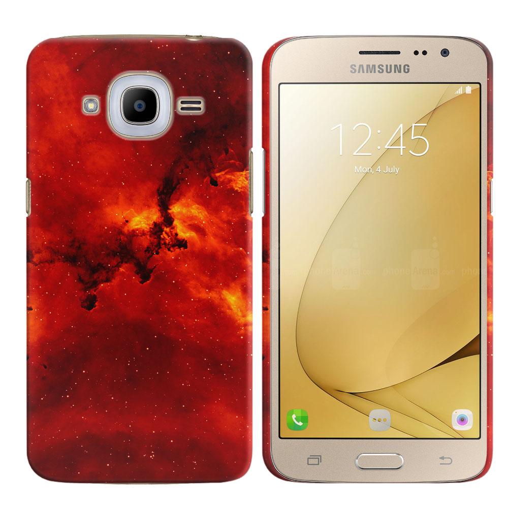 Samsung Galaxy J2 2016 J210 2nd Gen Fiery Galaxy Back Cover Case