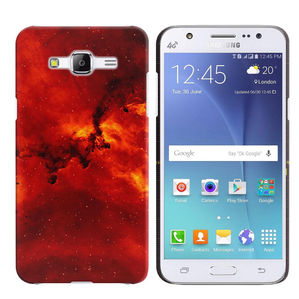 Samsung Galaxy J5 J500 Fiery Galaxy Back Cover Case