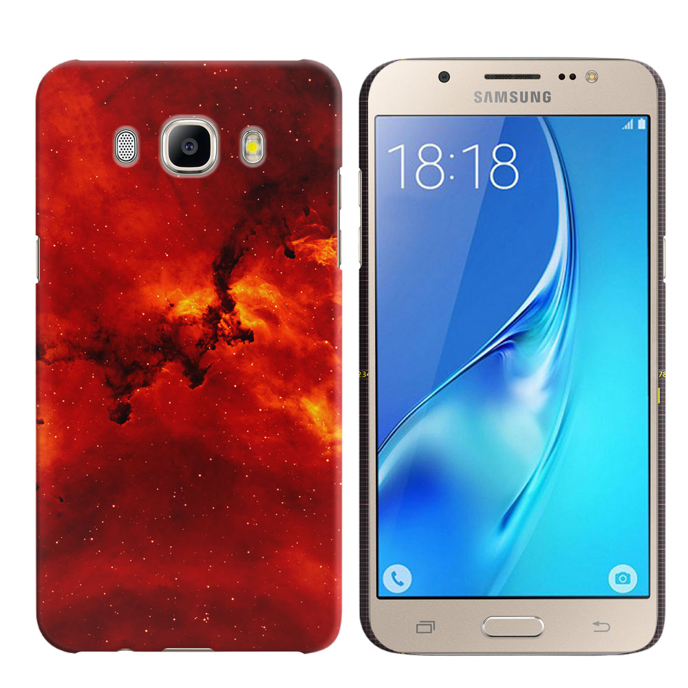 Samsung Galaxy J5 J510 2nd Gen 2016 Fiery Galaxy Back Cover Case