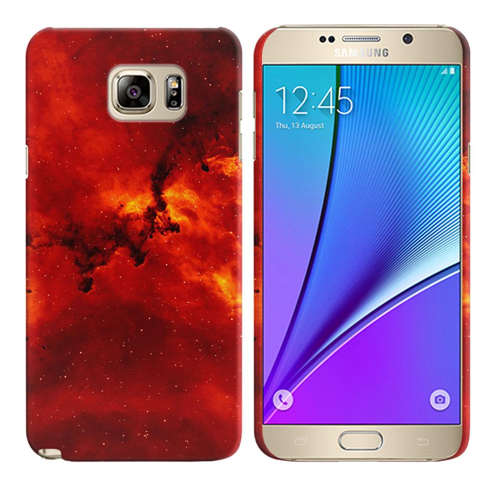Samsung Galaxy Note 5 N920 Fiery Galaxy Back Cover Case