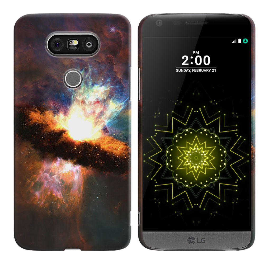 LG G5 H850 VS987 Space Kaboom Back Cover Case