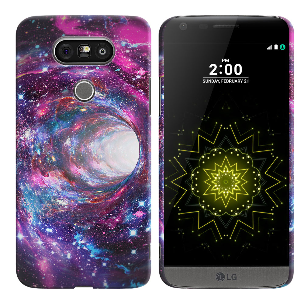 LG G5 H850 VS987 Space Wormhole Back Cover Case