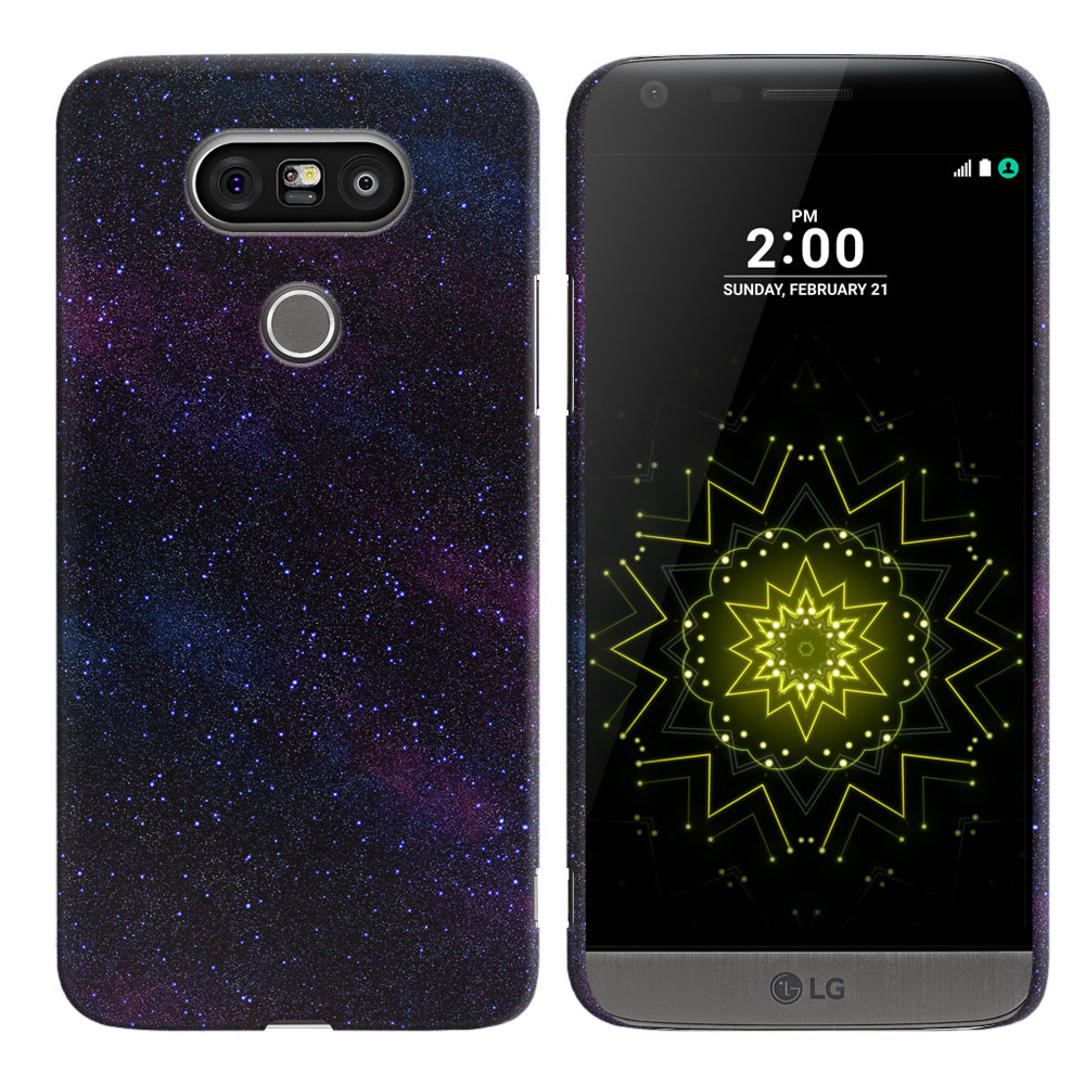 LG G5 H850 VS987 Starry Night Sky Back Cover Case