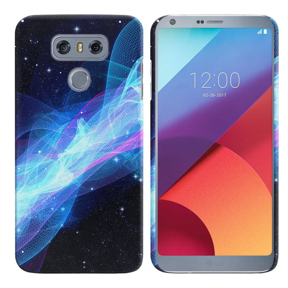 LG G6 H870 Glowing Space Wave Back Cover Case