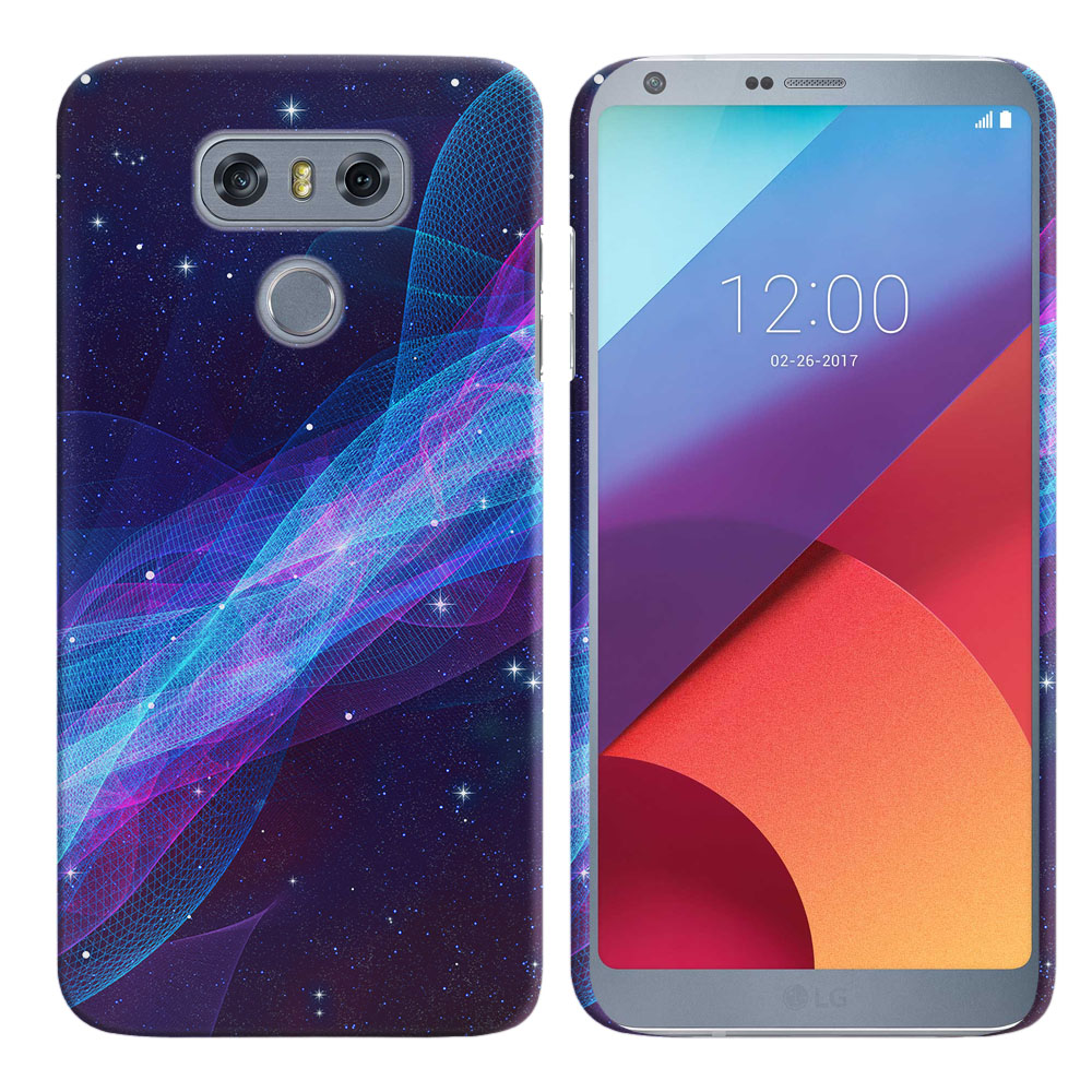 LG G6 H870 Space Wave Back Cover Case