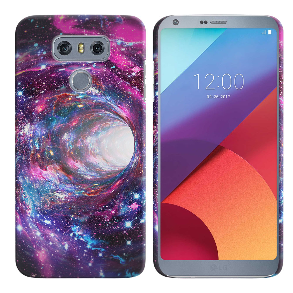 LG G6 H870 Space Wormhole Back Cover Case