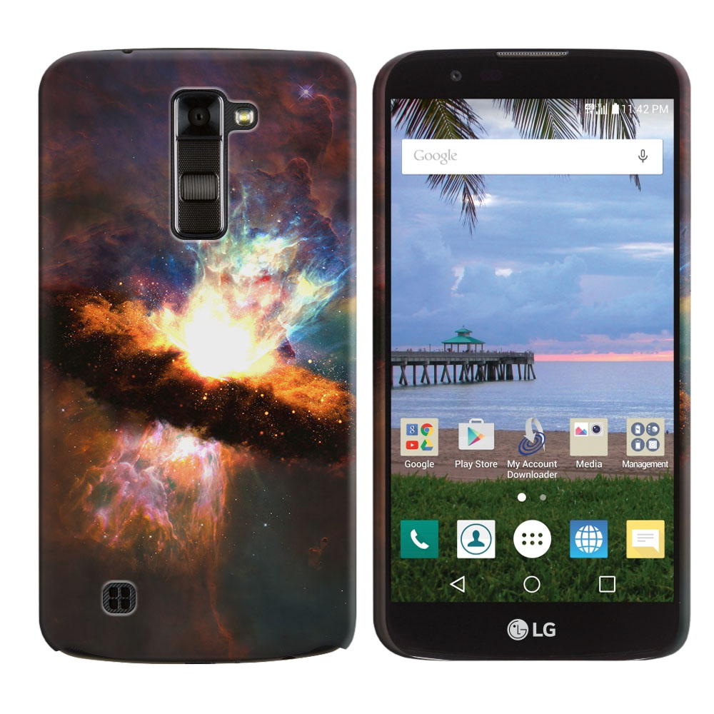 LG K10 Premier LTE L62VL L61AL K428 K430 K420 K420N Space Kaboom Back Cover Case