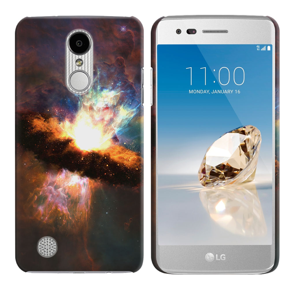 LG Aristo MS210 LV3 K8 (2017)/ Phoenix 3 M150 Space Kaboom Back Cover Case