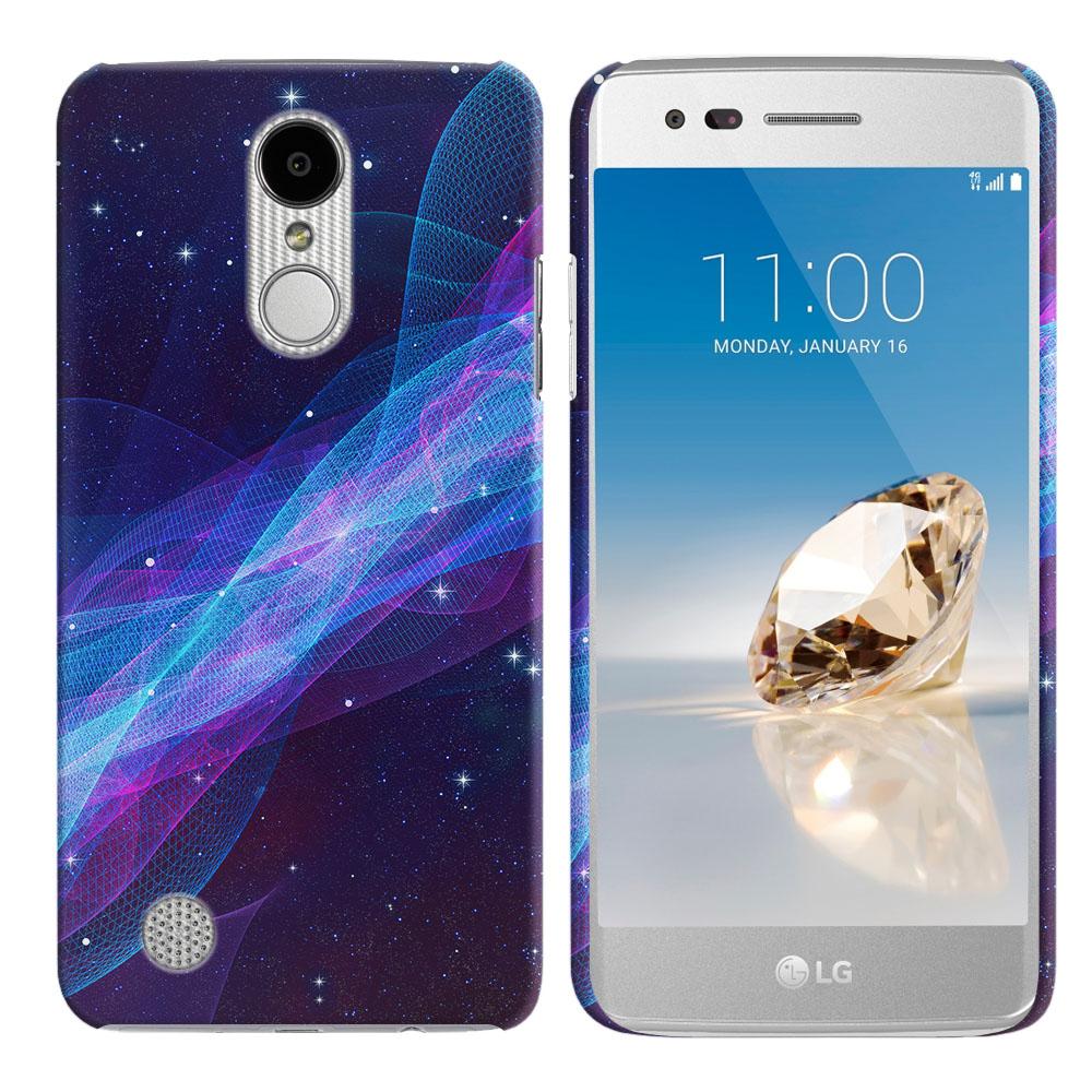 LG Aristo MS210 LV3 K8 (2017)/ Phoenix 3 M150 Space Wave Back Cover Case
