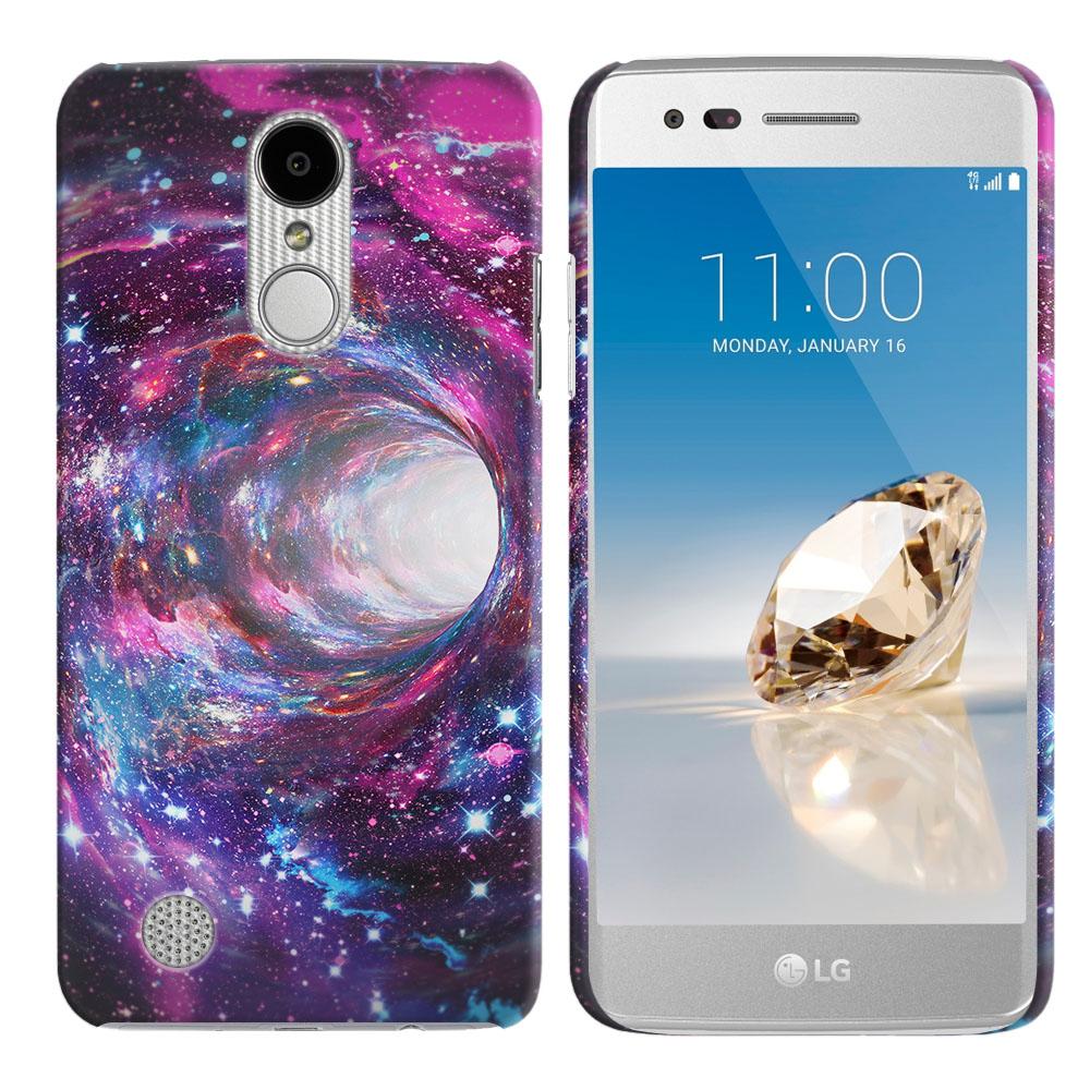 LG Aristo MS210 LV3 K8 (2017)/ Phoenix 3 M150 Space Wormhole Back Cover Case