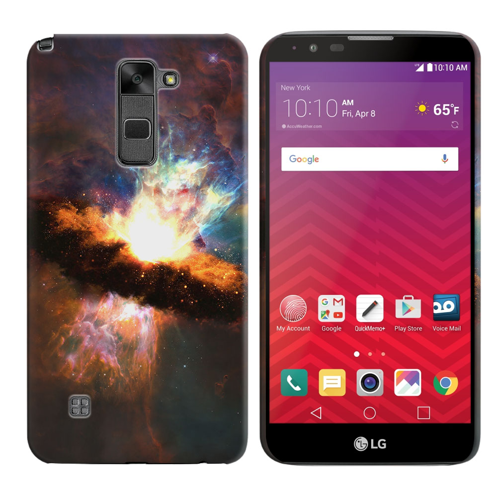 LG Stylus 2 LS775 K520 Stylo 2 Space Kaboom Back Cover Case