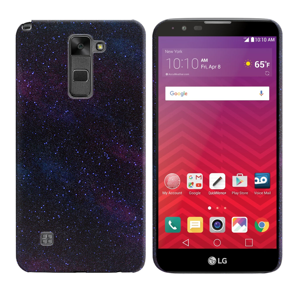 LG Stylus 2 LS775 K520 Stylo 2 Starry Night Sky Back Cover Case